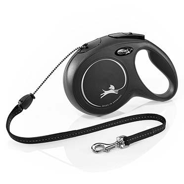 Flexi new classic cord Black M/8M