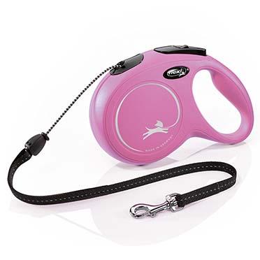 Flexi new classic cord Pink M/8M