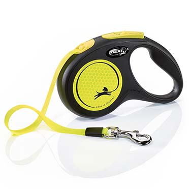 Flexi new neon tape Black/neon yellow S/5M