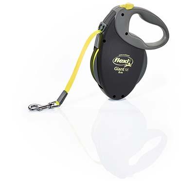 Flexi giant neon tape Black/neon yellow M/8M