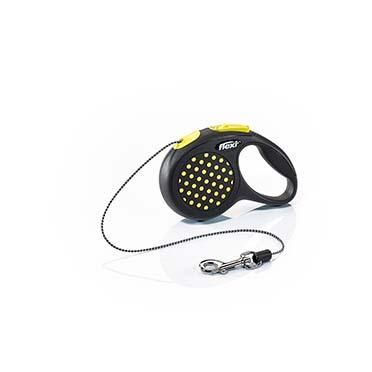 Flexi design cord Black/yellow XS/3M