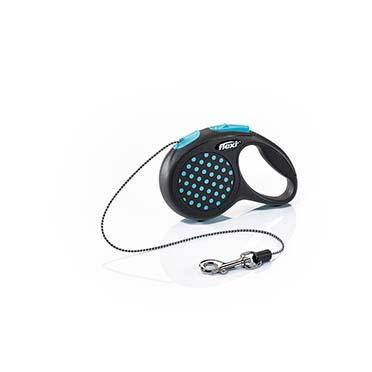 Flexi design cord Black/blue XS/3M