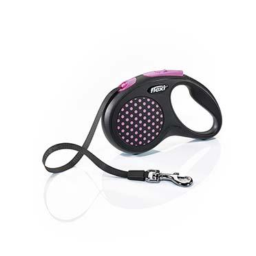 Flexi design tape Black/pink S/5M