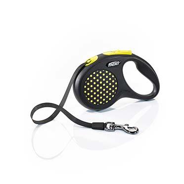 Flexi design tape Black/yellow S/5M