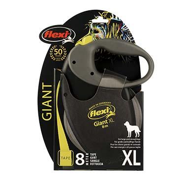 Flexi giant neon tape Black/neon yellow XL/8M