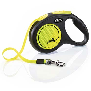 Flexi new neon tape Black/neon yellow M/5M