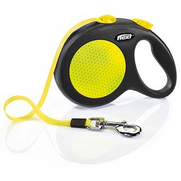 Flexi new neon tape Black/neon yellow L/5M