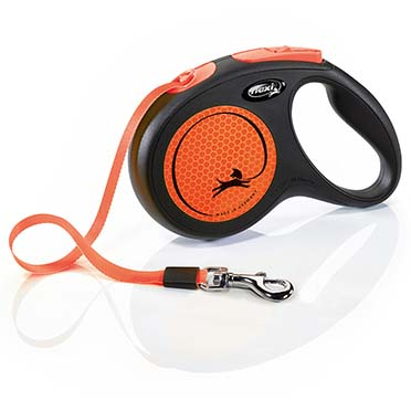 Flexi new neon tape Black/neon orange M/5M
