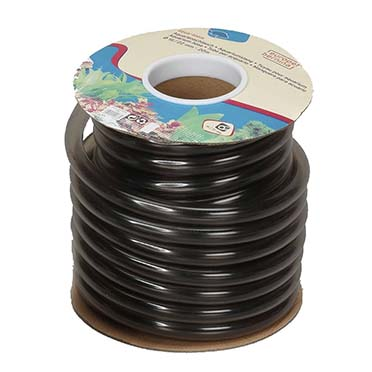 Aquarium tube/ flex. on carton spool  16/22MM - 1m