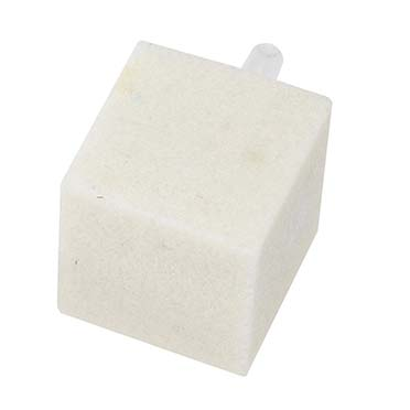Air stone White 25x25x25MM