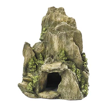 Stone with moss Green 19CM
