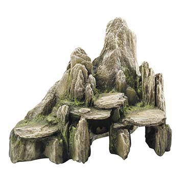 Stone with moss Green 25,5x15,5x20CM