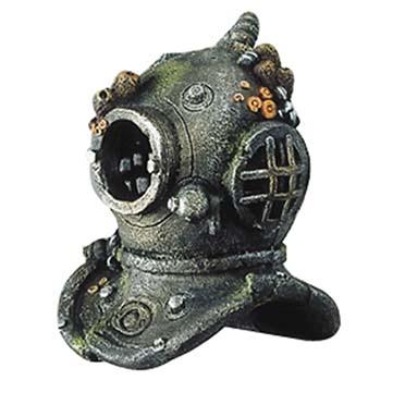 Diver helmet with airston  M - 17CM