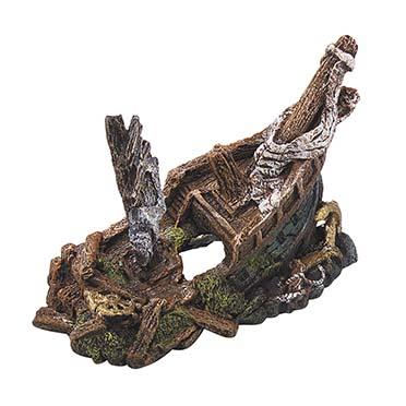Galleon wreck 22x11x15.5cm  L - 22x11x15,5CM