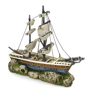 Boat with sails  38x12,5x31,5CM