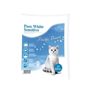 Pure sensitive/pacific breeze White 15LTR - 0,5-2MM