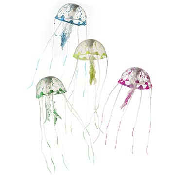 Jellyfish /color mix  S - 6x6x18CM