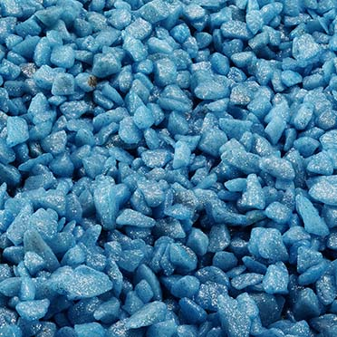 Glamour stone /indian Blue 6-9MM/2,0KG