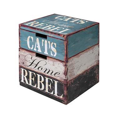Catbox rebel L - 40x40x50CM