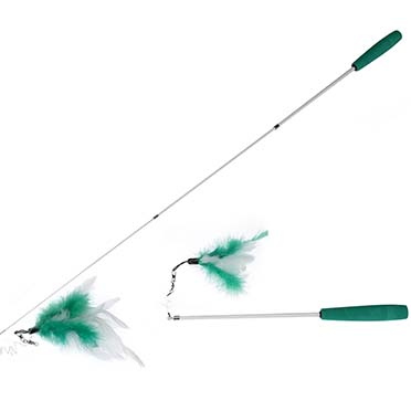 Cat fishing rod telescope Green/white 35-95CM