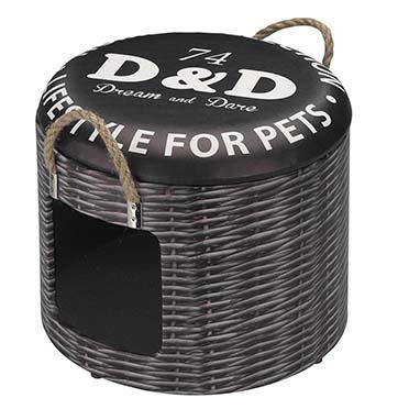Petbox rattan S - 30x26CM