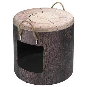 Petbox wood L - 42x40CM