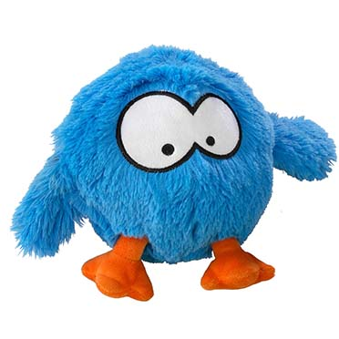 Bouncy jumping ball spasmetic laughter Blauw 28x19cm