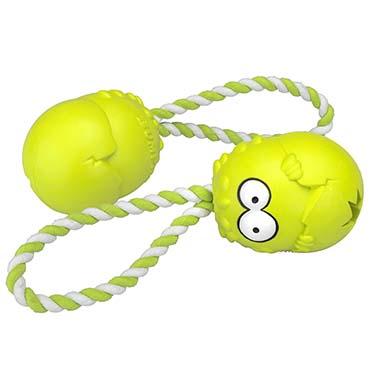 Bumpies met touw apple yellowwish Groen M - 7-16kg