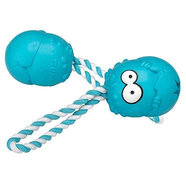 Bumpies met touw mint caribbean Blauw M - 7-16kg