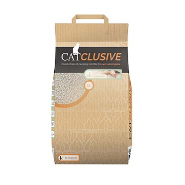 Catlitter babypowder scent  12KG - 50x33x12CM