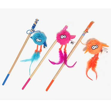 Jumpy fishing rod mix Mixed colors 40cm