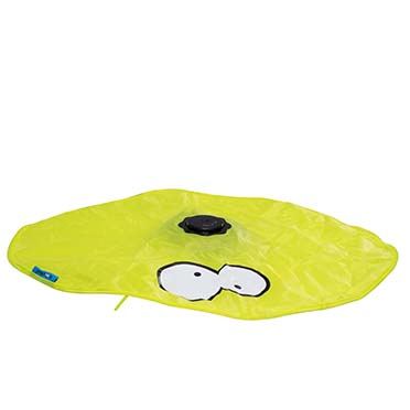 Hide interactive cat toy Lime 15x15x6cm