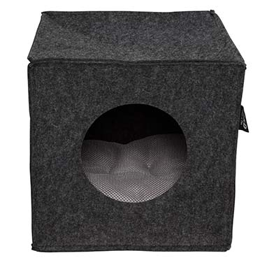 Homecollection cat cube 33x33x33cm
