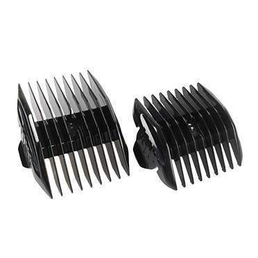 Clip on combs noir set