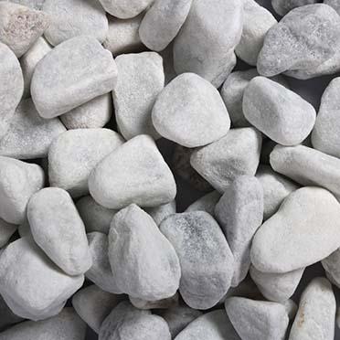 Aquarium gravel carrara white  12-16 MM - 2kg