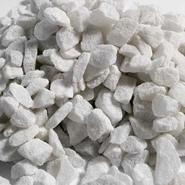 Aquarium gravel carrara white  9-11MM - 10kg