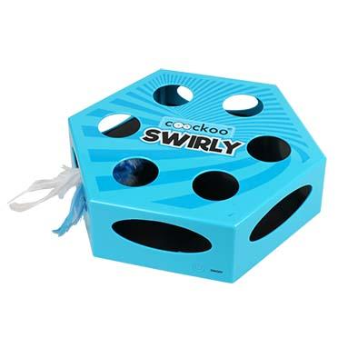 Swirly Blue 20,4x6,8x23cm
