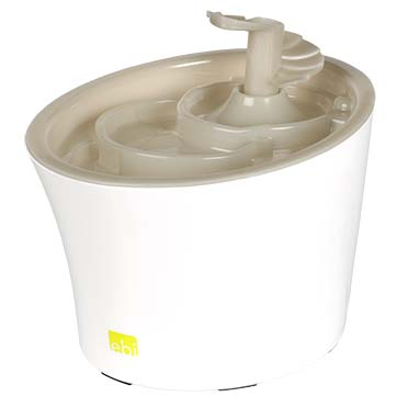 Tugela pet water feeder Mokka 22,5x18,5x16cm
