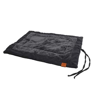 Comfy plaid davy corduroy Grey 80x60x1cm