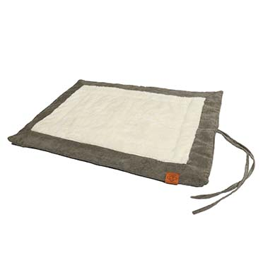 Comfy plaid davy corduroy Green 80x60x1cm