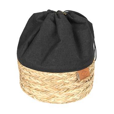 Buddy storage bag Black 25x25x30cm