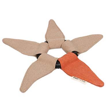 Iceflower dog toy Beige/orange 23x32x2,3cm