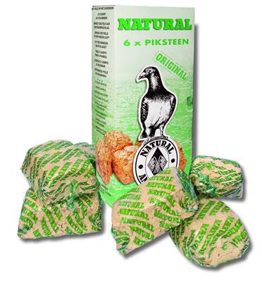 Natural picking stone  6 pack