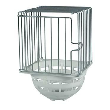 Iron/plastic external nest  10x11x16cm