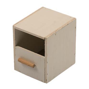 Nest box finch 1/3 breeding cage  10,5x12x13cm