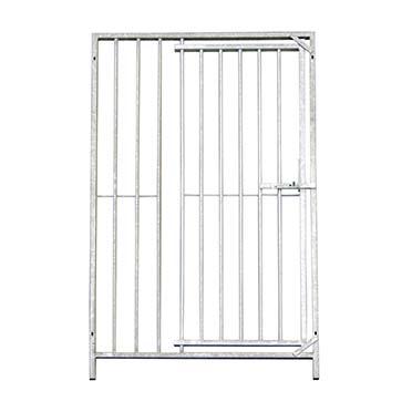 Dog run panel with door bars  150x184cm