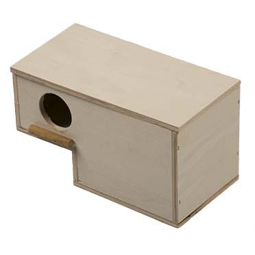 Nest box gouldian  20x10x11cm