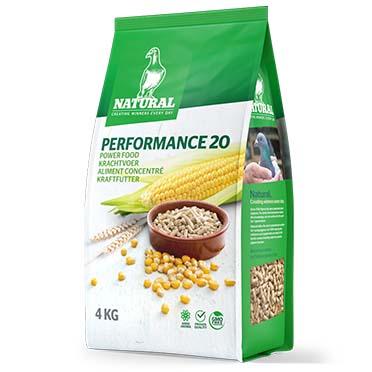Natural performance 20  4kg