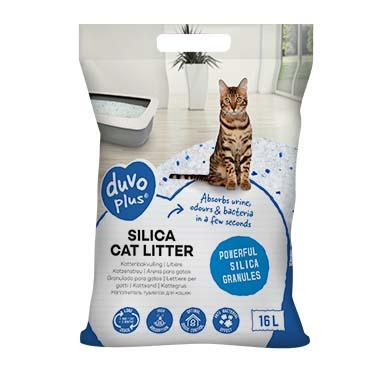 Premium silica cat litter  16L