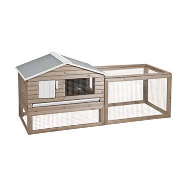 Woodland rabbit hutch snoozer cottage  161x60x73CM
